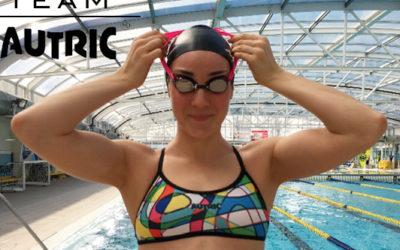 Cristina Mardones, la bio-ingeniera nadadora.